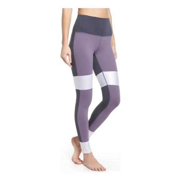 4cf6cdbcd3a49 Zella Pants | Around The Block High Waist Leggings | Poshmark